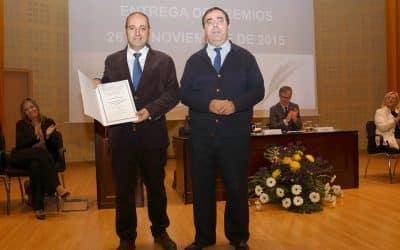 Vicente Ruiz García recoge el X Premio de Ensayo de la Fundación de Municipios Pablo de Olavide
