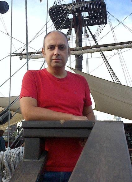 Vicente Ruiz presentará en Úbeda 'Las aventuras del navío San Justo. España entre dos siglos'